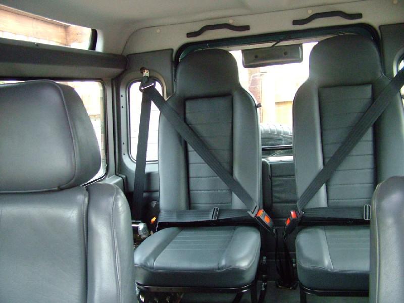 Defender Forward Facing Rear Seats Land Rover Defender
