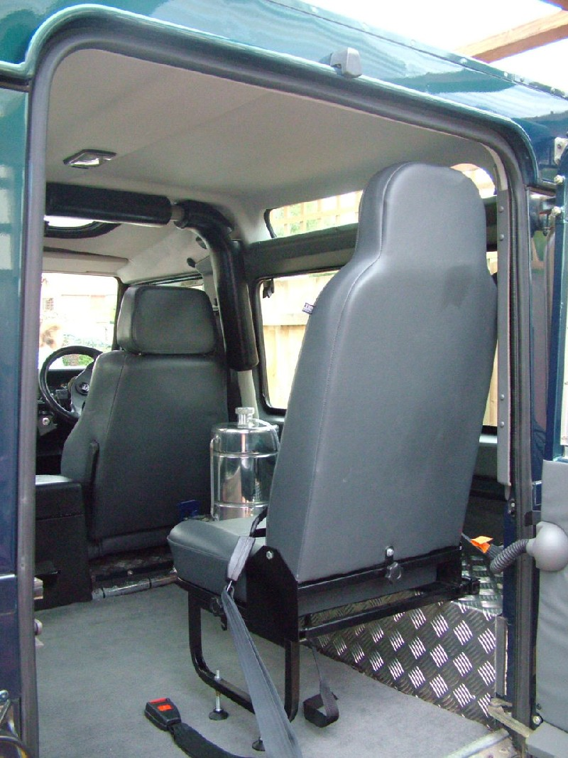 Defender Forward Facing Rear Seats Land Rover Defender